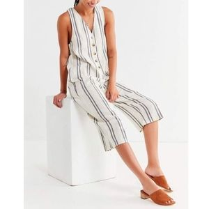 Urban Outfitters Jordan Button-Down Jumpsuit